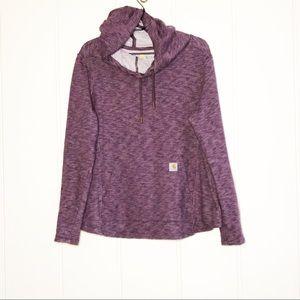 Plus Size Purple Carhartt Hoodie Women's 1X
